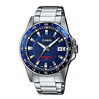 Casio men's analog quartz watch with stainless steel band MTP-1290D-2AVEF