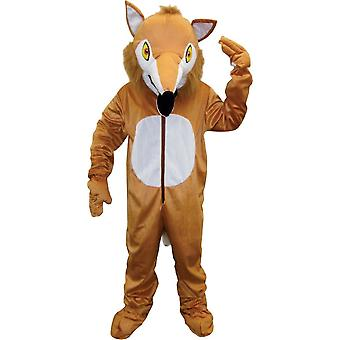 Fox Mascot Adult Costume