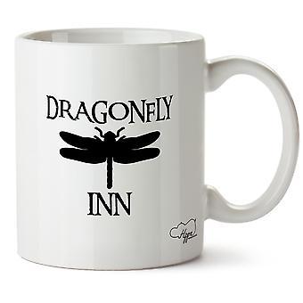 Hippowarehouse Dragonfly Inn painettu muki Cup keraaminen 10oz