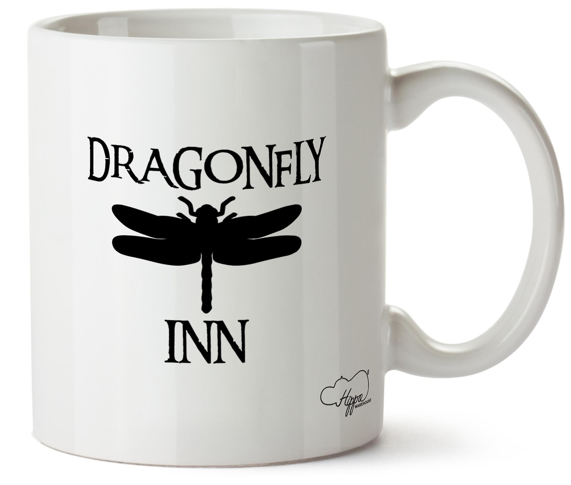 Hippowarehouse Dragonfly Inn напечатаны Кубка керамическая кружка 10oz