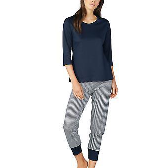 Mey Women 13951 Women's Paula Striped Cotton Pyjama Set