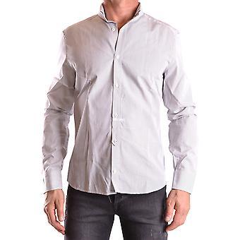 Neil Barrett Ezbc058028 Men's Multicolor Cotton Shirt
