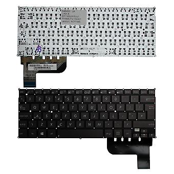 Asus Zenbook UX21A Backlit Version (Without Backlit Board) Brown UK Layout Replacement Laptop Keyboard