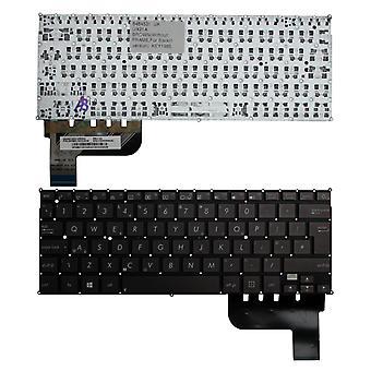 Asus Zenbook UX21A バックライトバージョン (バックライト付きボードなし) ブラウン UK レイアウト交換用ラップトップキーボード