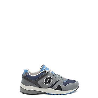 Lotto Ezbc139001 Men's Grey Suede Sneakers