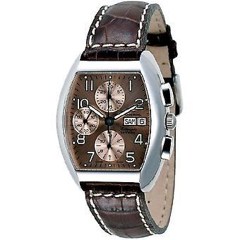Zeno-Watch Herrenuhr Tonneau Sapphire Chronograph-Date 3077TVDD-a6