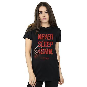 Koszmar na ulicy Wiązów kobiet nigdy nie spać znowu chłopak Fit T-shirt