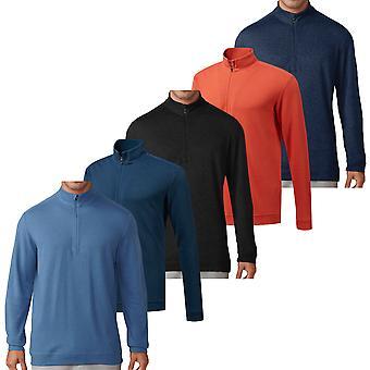 Adidas Golf heren wol 1/4 zip Pullover