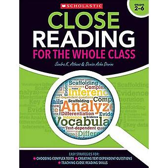 Close Reading for the Whole Class - Easy Strategies For - Choosing Comp