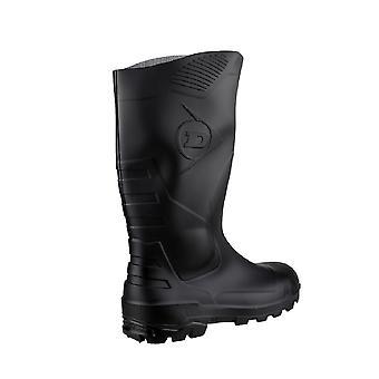 Dunlop Devon Unisex zwart Wellington Veiligheidslaarzen