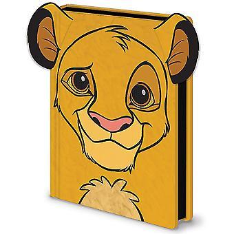 Disney Premium Notebook K÷nig de L÷wen Simba 3D Pl3sch DIN A5 hardcover in bontlook, gebonden, 240 pagina's gevoerd.