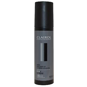 Clairol Professional Clairol Men Solidify It Extreme Hold Gel for Men 100ml