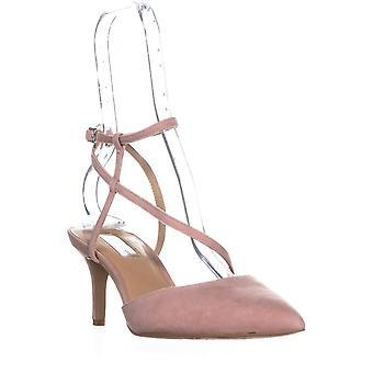 INC International Concepts I35 Leniil Pointed Toe Buckle Kitten Sandals, Blus...