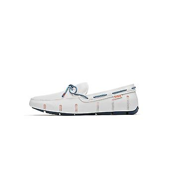 Swims White/Slate Stride Lace Loafer