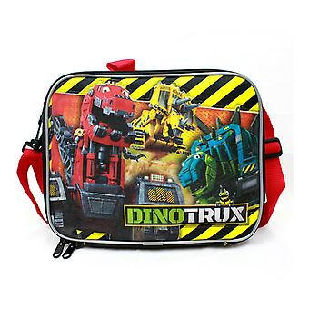 Lunch Bag - DinoTrux - Mega Team Black School New 85098
