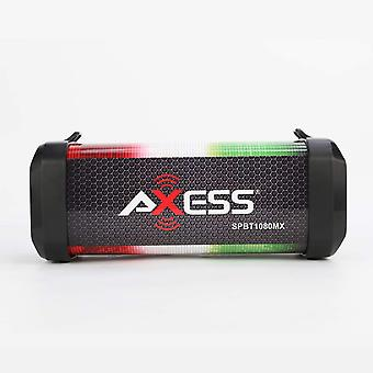 Axess Personal Bluetooth Media Speaker With Lithium Rechargeable Battery -Mexico