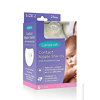 Lansinoh® Contact Nipple Shield - 24mm (1 par)