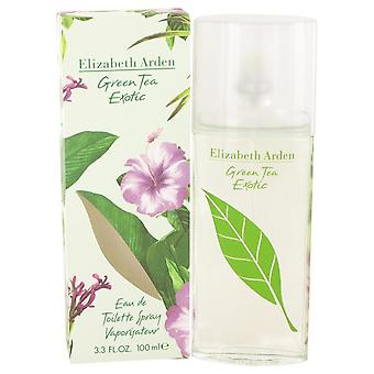 Green Tea Exotic Eau De Toilette Spray By Elizabeth Arden   498358 100 ml