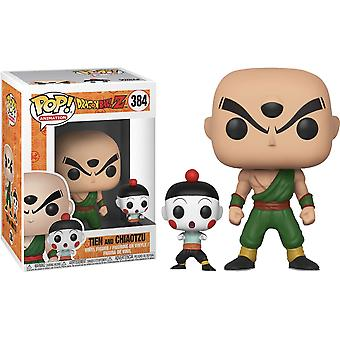 Dragon Ball Z Tien & Chiaotzu Pop! Vinyl