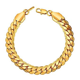 Bracelet-Cuban link, or