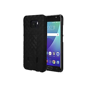 Verizon Shell Holster Combo Case with Kickstand for ASUS ZenFone V - Black