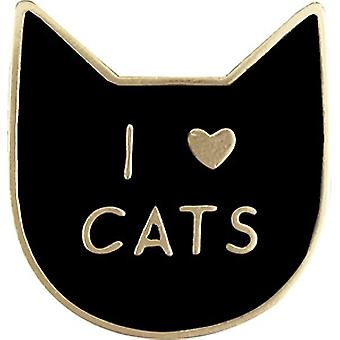 Pin - C&D - Cats I Love Cats New Gifts lap-0068