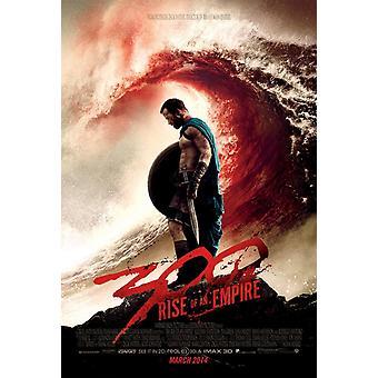 300 Rise of an Empire Poster doppelseitig regelmäßig (2014) Original Kino Poster