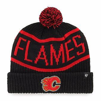 Apos;47 Nhl Calgary Flames Black Calgary Cuff Knit
