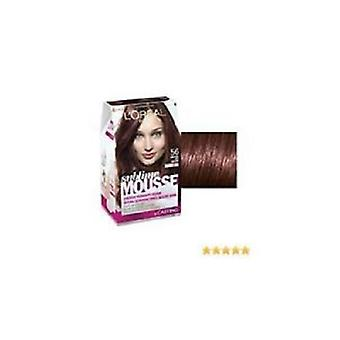 L'Oreal Sublime Mousse Permanent Foam Colour 56 Daring Hot Brown TRIPLE PACK