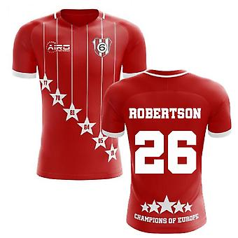 2020-2021 Liverpool 6 Time Champions Concept Football Shirt (Robertson 26)