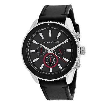 Armani Exchange Men's Classic Black Dial Watch - AX1817