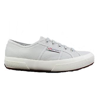 Superga Cotu Classic Grey Ash Canvas Unisex Lace Up Shoes