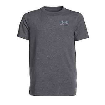 Under Armour sport ladet bomull Kids kort erme t-skjorte Tee kull