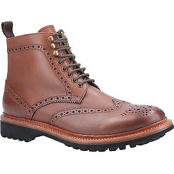 Cotswold mens Rissington commando Goodyear Welt Lace up boot