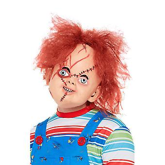Adults Chucky Mask Horror Film Fancy Dress Costume Accessory