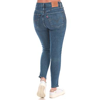 Womens Levi's Mile High Super Skinny Jeans – In Your Dreams Wash