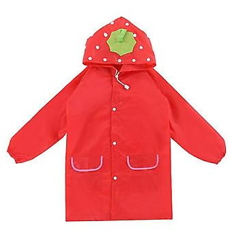 Rain jacket for children - Strawberry