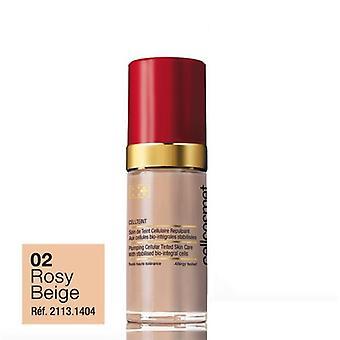 Cellcosmet Cellteint Plumping Cellular Tinted Skin Moisturiser 30ml-02 Rosy Beige
