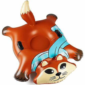 Grand gonflable neige luge Snow Tube Fox Fox Fox
