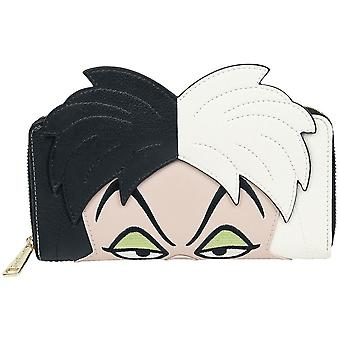 Disney, 101 Dalmatiner - Brieftasche, Cruella de Vil