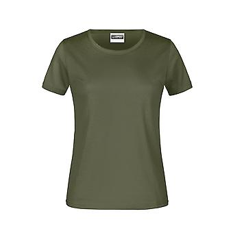 James And Nicholson Womens/Ladies Basic T-Shirt