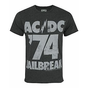 Amplified AC /DC Comics &74 Jailbreak Men's T-Shirt