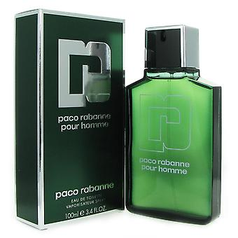Paco rabanne voor mannen 3.4 oz 100 ml eau de toilette spray