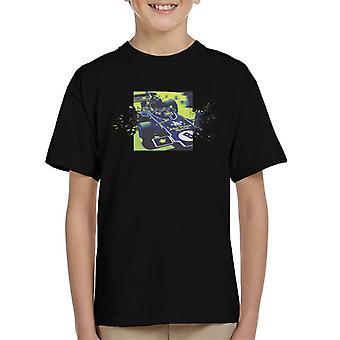 Motorsport Images Lotus 72D Leaves The Pits Kid's T-Shirt