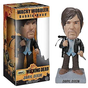 The Walking Dead Daryl Biker Wacky Wobbler