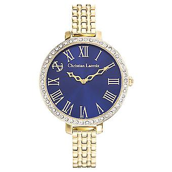 Christian lacroix Quartz Analog Women's Watch with CLWE35 Stainless Steel Bracelet