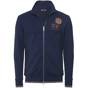 La Martina Zip-Through Guards Polo Club Sweatshirt