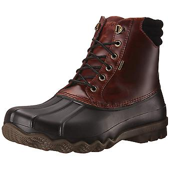 Sperry Mens Avenue Leather Cap Toe Ankle Safety Boots