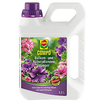 COMPO balcony and potted plant fertilizer, 2.5 litres