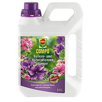 Balcone COMPO e fertilizzante vegetale in vaso, 2,5 litri